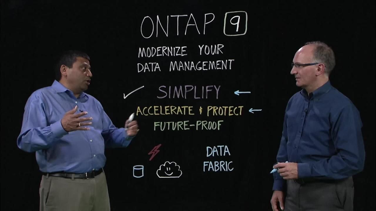 Modernize Data Management with ONTAP 9