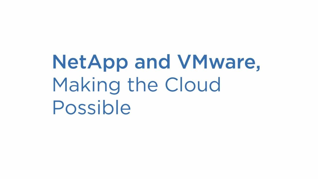 The Vision for Virtualization on VMware cloud on AWS