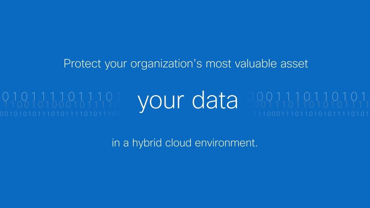 Your Most Valuable Asset, Data