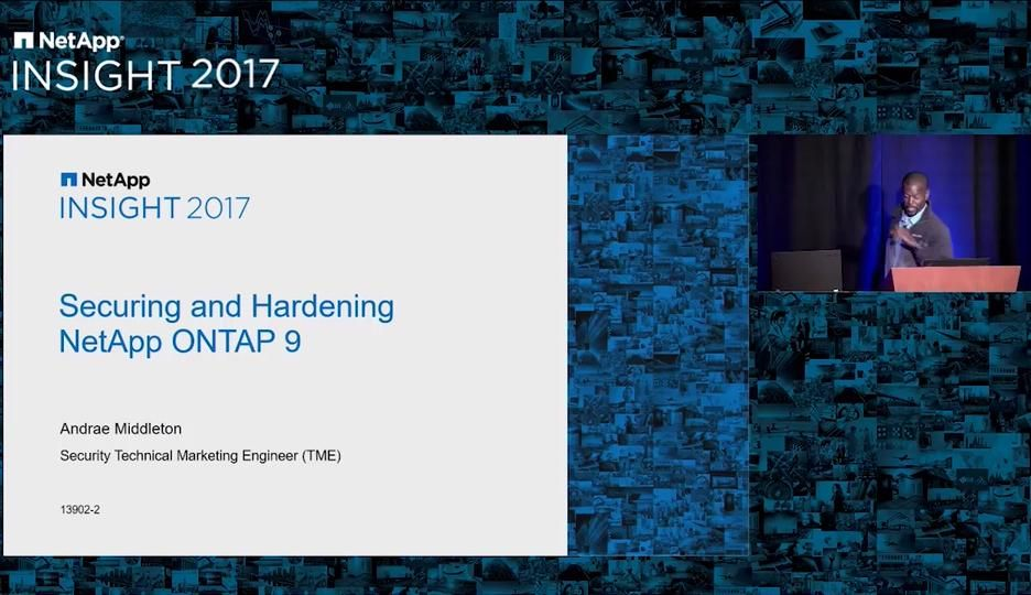 Securing and Hardening NetApp ONTAP 9