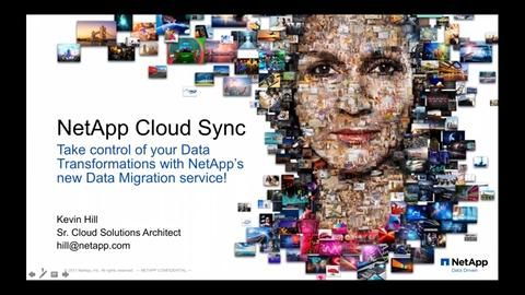 To the Clouds! Migration with NetApp Cloud Sync