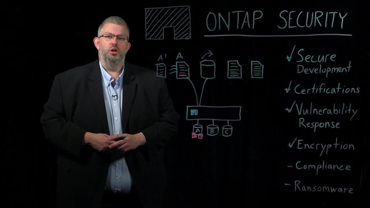 ONTAP Data Security Overview