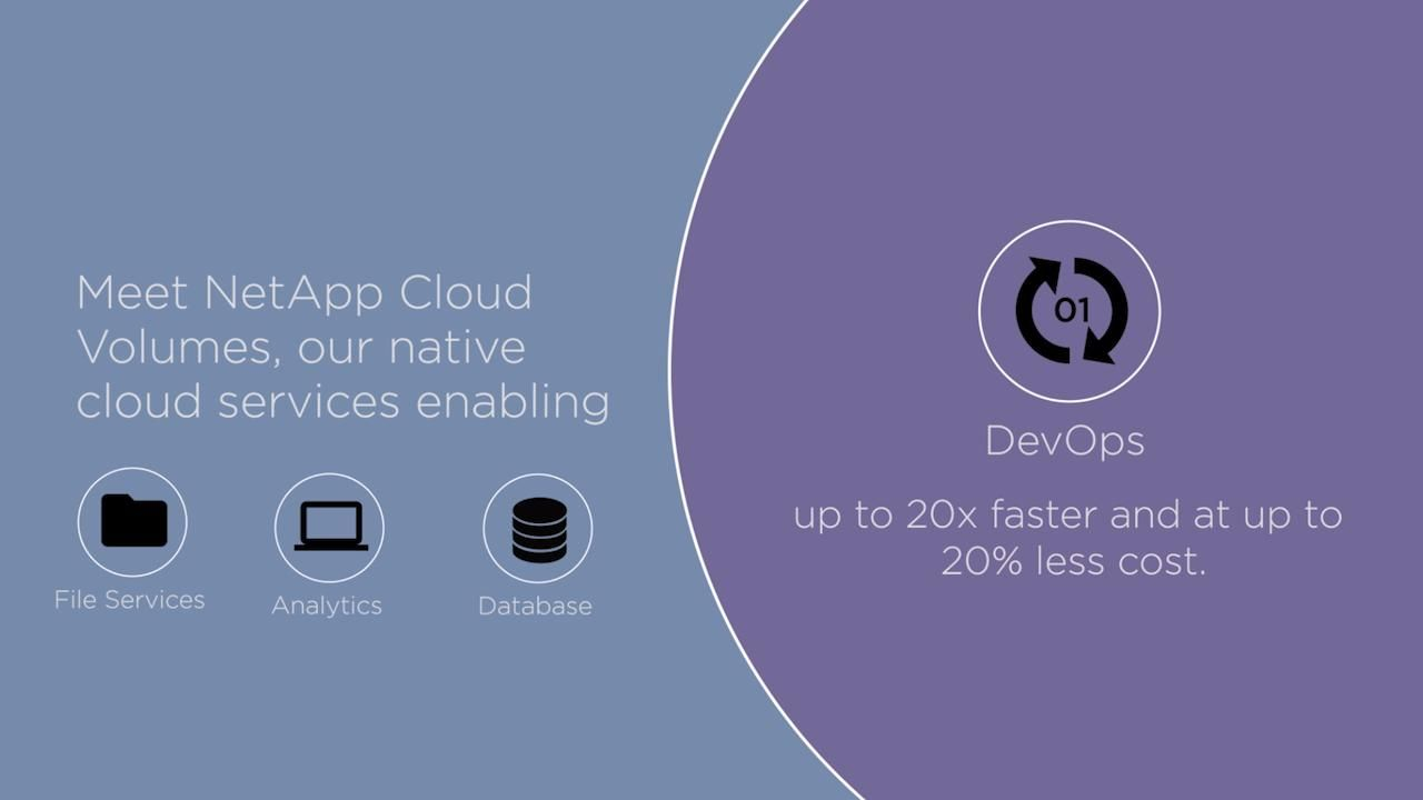 Meet NetApp Cloud Volumes