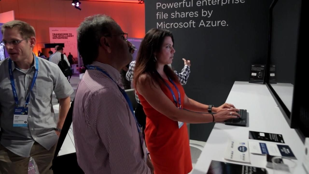 NetApp at Microsoft Ignite 2018
