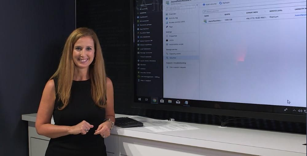 Azure NetApp Files Demo with Jean English