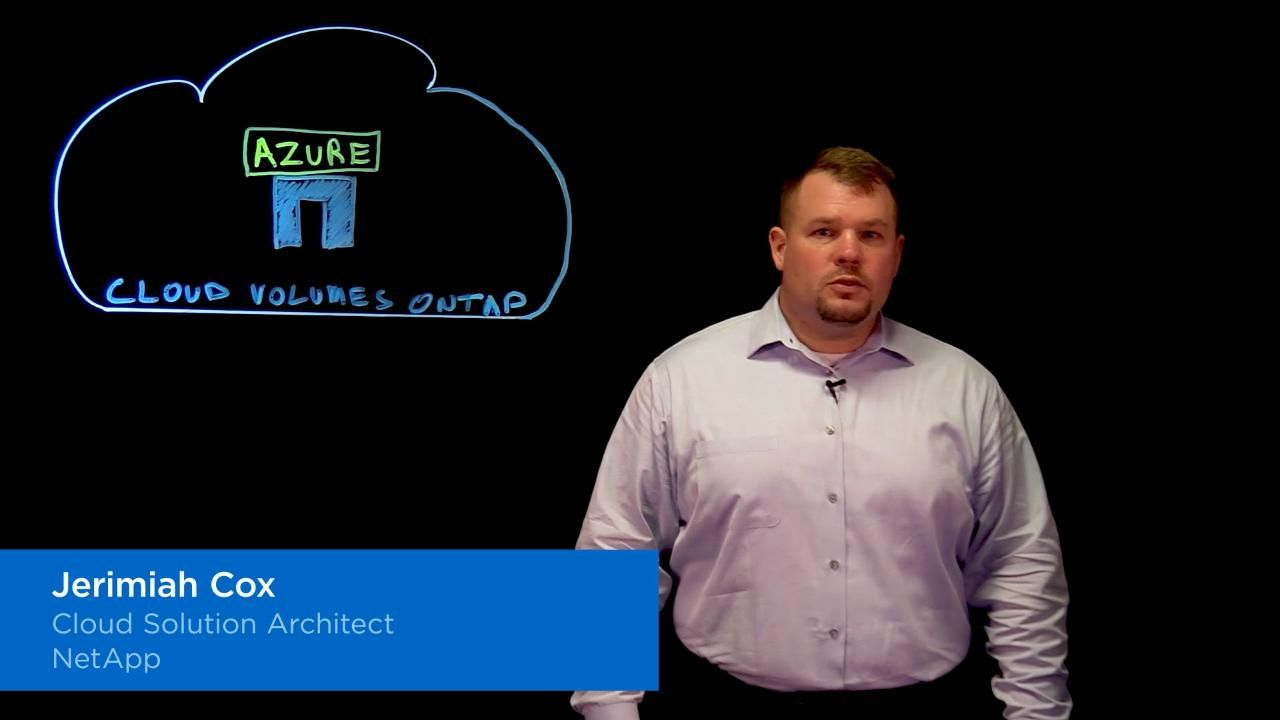 Cloud Volumes ONTAP for Azure Overview