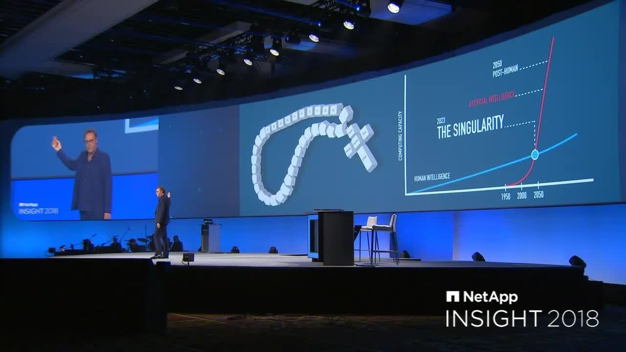 NetApp Insight 2018 - Tuesday Keynote