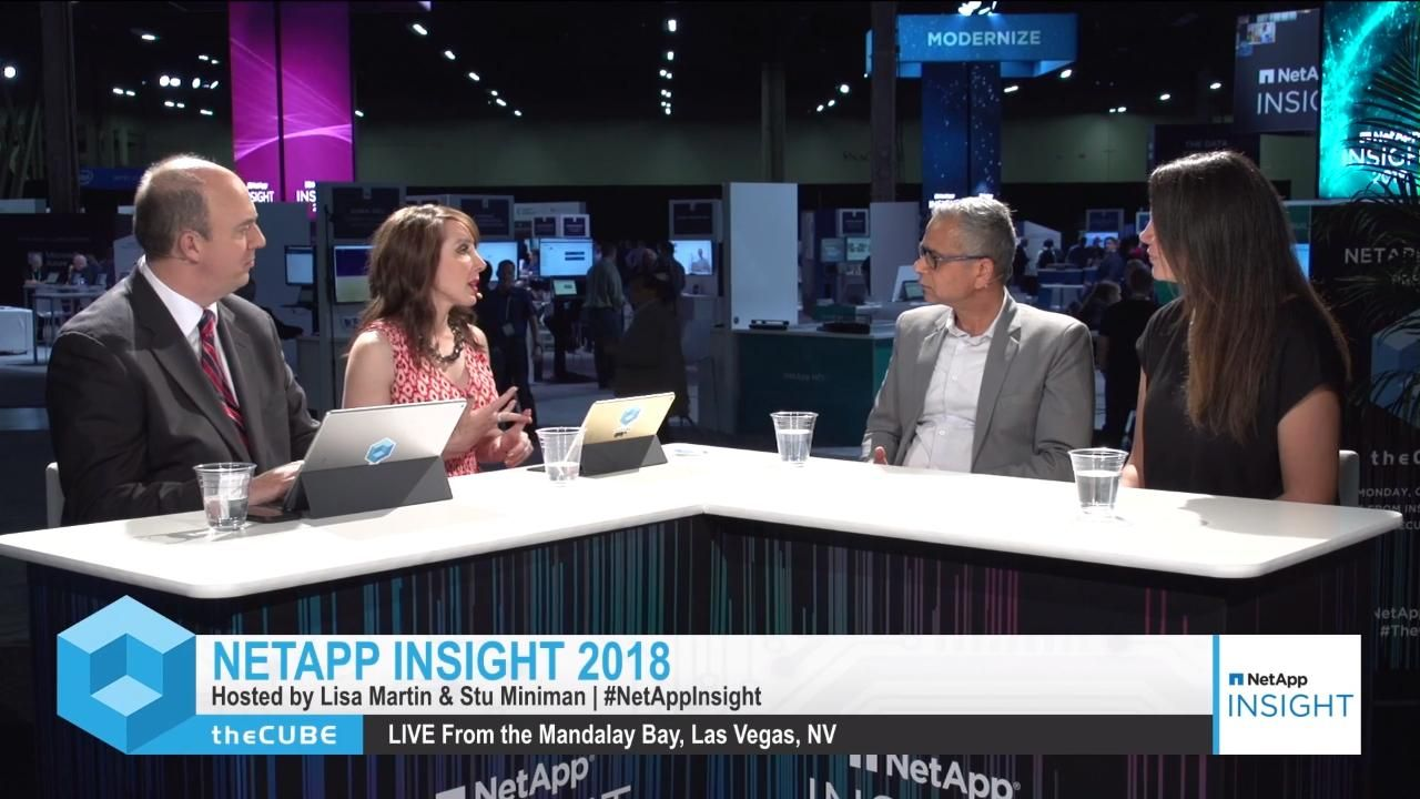 Jennifer Meyer and Alok Arora Discuss NetApp Cloud Initiatives