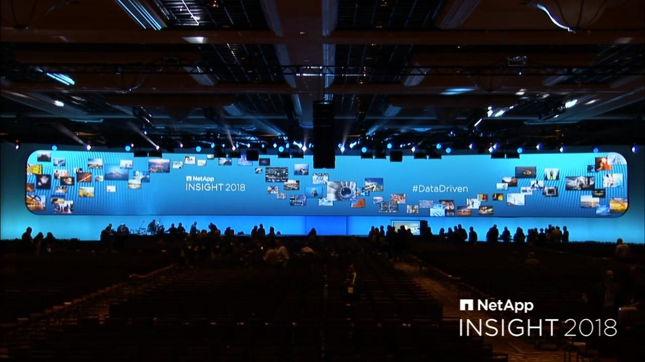 NetApp Insight 2018 - Wednesday Keynote
