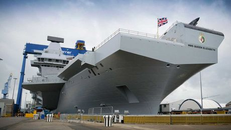 Building Britain's Biggest Warship