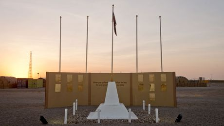 The Bastion Memorial: A Focal Point Of Remembrance