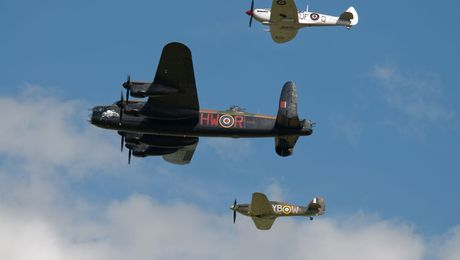 Behind The Scenes With The Battle Of Britain Memorial Flight