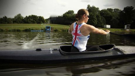 Two Former Soldiers Prepare To Compete In Paracanoe