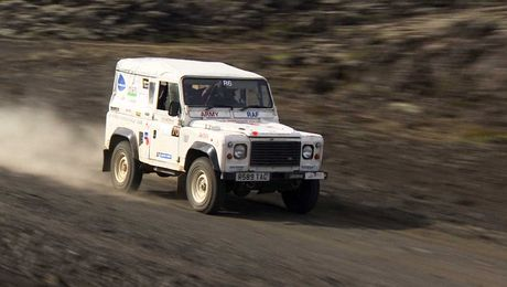 Rally Reykjavik: Some Of The Toughest Terrain On The Planet