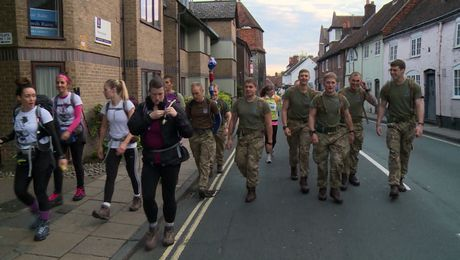 Royal Marine WAGs & The Great Yomp Part 1