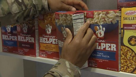 RAF Mildenhall Sets Up Food Bank For American Personnel