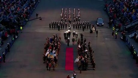 The Royal Family at The Tattoo