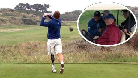 'Showing What We Can Do': Injured Forces Golfers Face Off