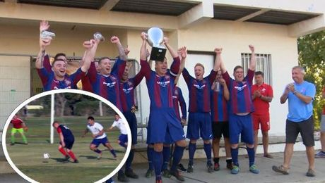 RAF Odiham Beat The Locals To Take Akrotiri 7s Trophy