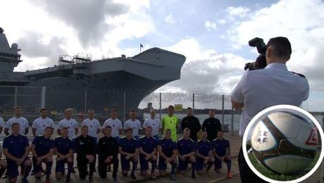 'Massive' Inspiration For UK Forces Footballers Ahead Of France Clash