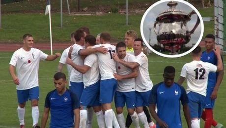 Kentish Cup: UK Forces Footballers Off To Winning Start After France Win