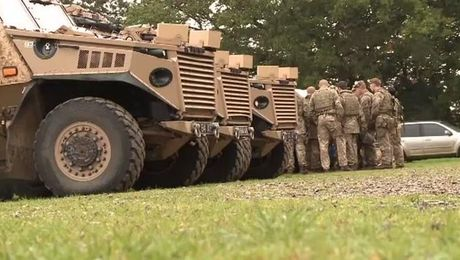 2 SCOTS Prepare To Deploy To Iraq For Op Shader
