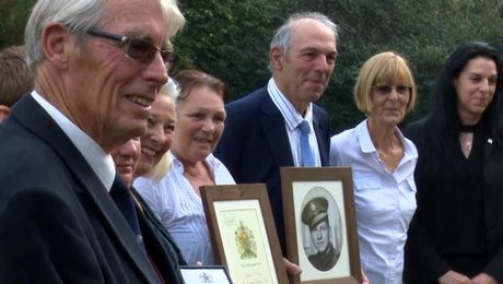 Special Award For Soldier Murdered Over 60 Years Ago