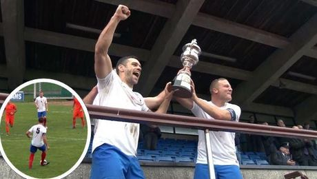 UK Forces Footballers Take Kentish Cup For Third Year In A Row