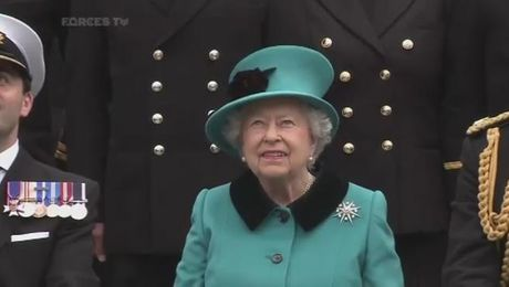 The Queen Marks HMS Sutherland's 20th Anniversary