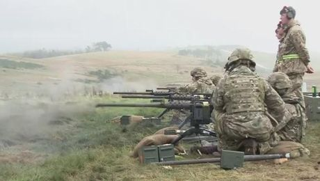 3 SCOTS Train Before Iraq Deployment