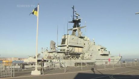 HMS Severn Decommissioned
