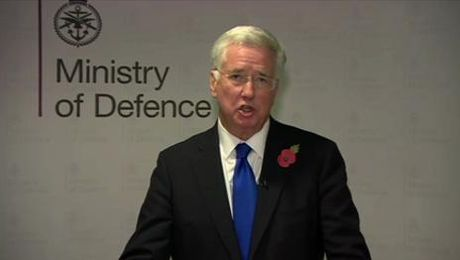 Sir Michael Fallon's Official Resignation Statement