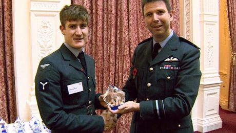 RAF Names Sporting Heroes Of 2017 At Halton