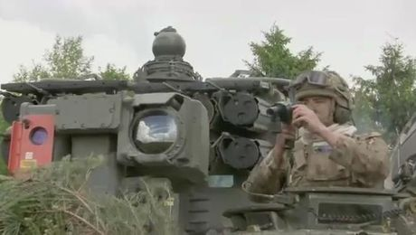 16th Battery From First British-Led Battlegroup Return To Germany