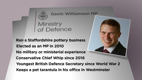 Who Is New Defence Secretary Gavin Williamson MP?