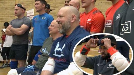What Is 'Goalball' And How Did UK Veterans Use It To Inspire The All Blacks?