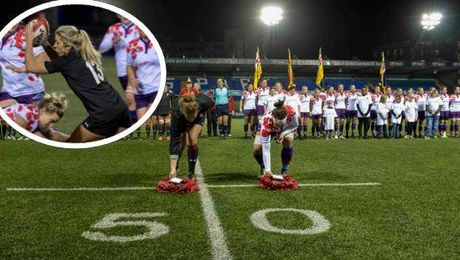 Women's Rugby: Armed Forces Stars Do Military Proud At Remembrance Match