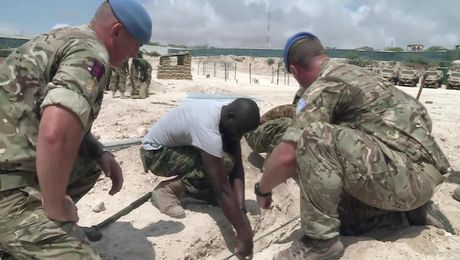 What Are British Troops Doing In Somalia?