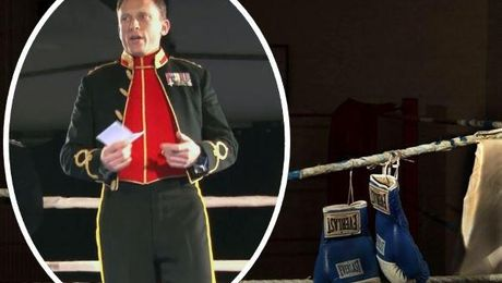 'War Is Not A Game': Army Officer Gives Rousing Boxing Night Speech