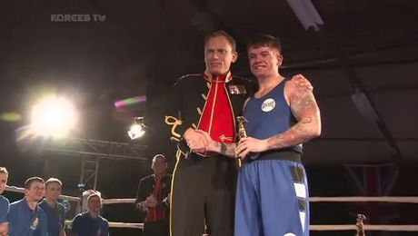 All The Action From The Queen's Royal Hussars' Regimental Boxing Night