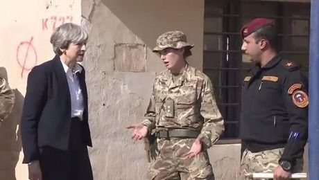 Prime Minister Tells Forces News Battle Against IS At 'Critical Moment'