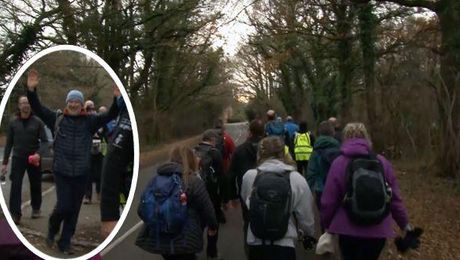'So Worth It': Veterans & Volunteers In London-Sussex Walk For Forces Charity