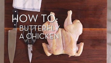Butterfly a Chicken | Cooking How To | Food Network Asia