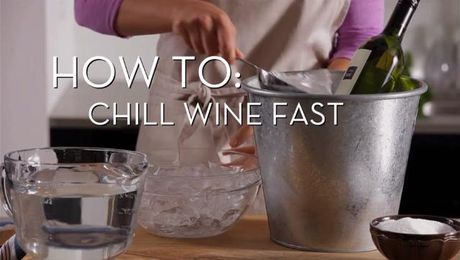 Chill Wine Fast | Cooking How To | Food Network Asia