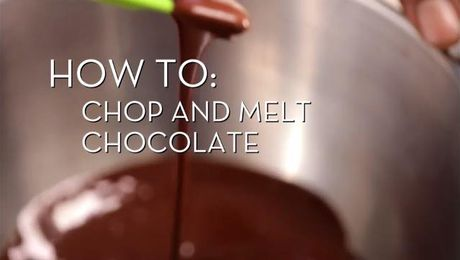 Chopping and Melting Chocolate | Cooking How To | Food Network Asia