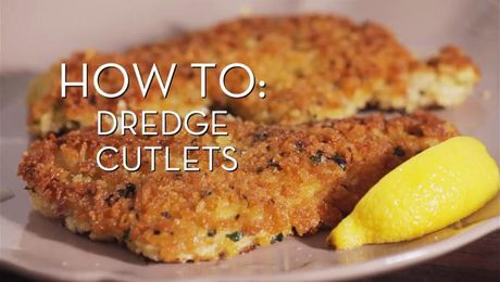 Dredge Cutlets | Cooking How To | Food Network Asia