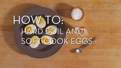 Eggs 101 - Hard and Soft Boiled | Cooking How To | Food Network Asia