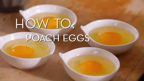 Eggs 101 - Poached | Cooking How To | Food Network Asia