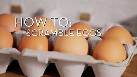 Eggs 101 - Scrambled | Cooking How To | Food Network Asia