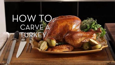 Carving a Turkey | Cooking How To | Food Network Asia